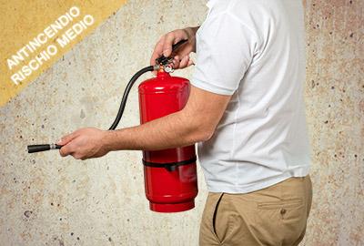 addetto antincendio rischio medio