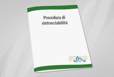 procedura di rintracciabilità