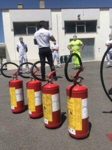 Tecniche di spegnimento incendi