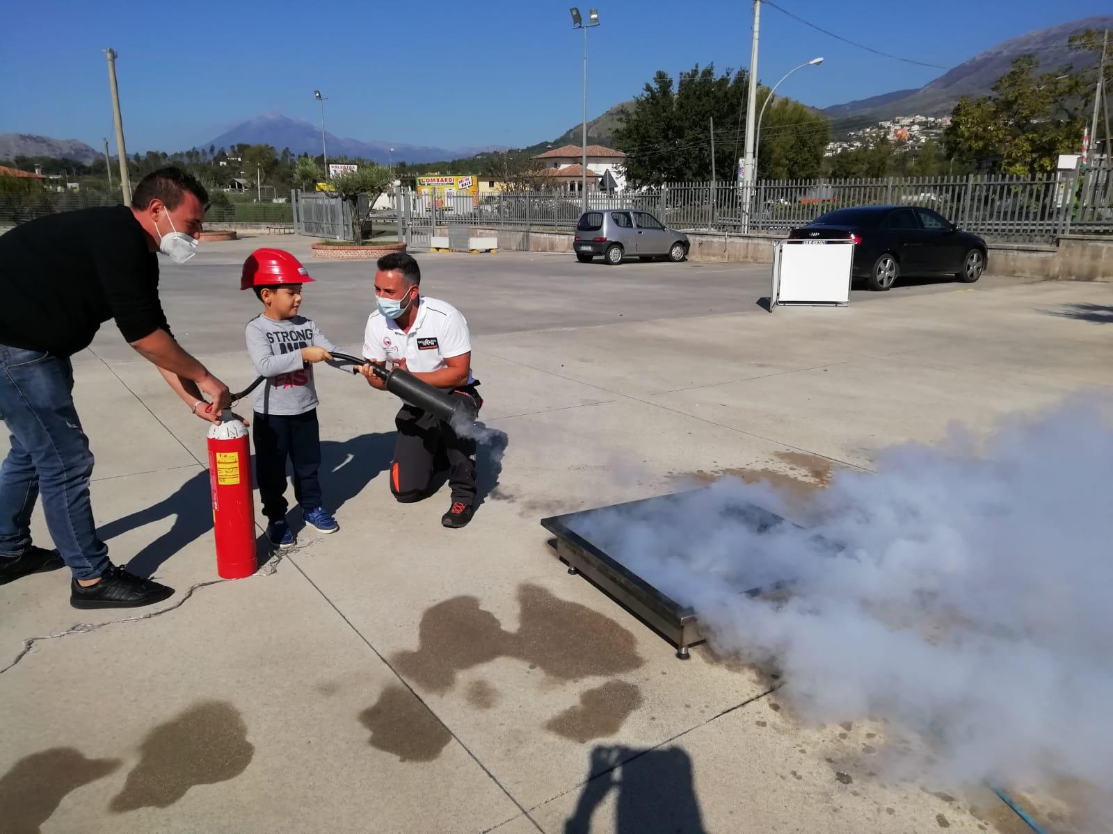 Addestramento Antincendio